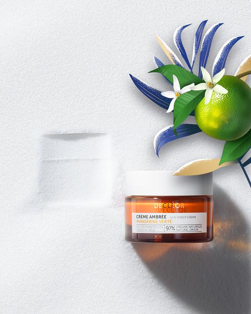 Crème ambrée de jour