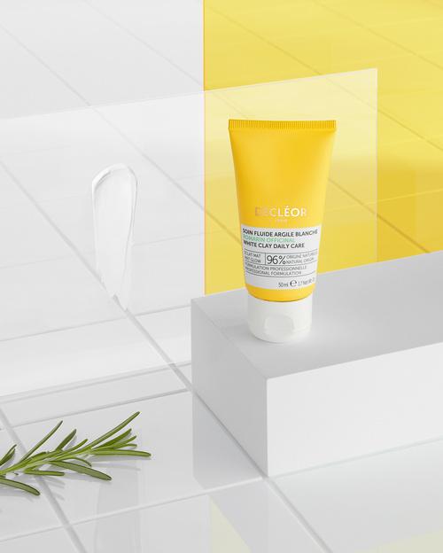 Crème fluide argile blanche